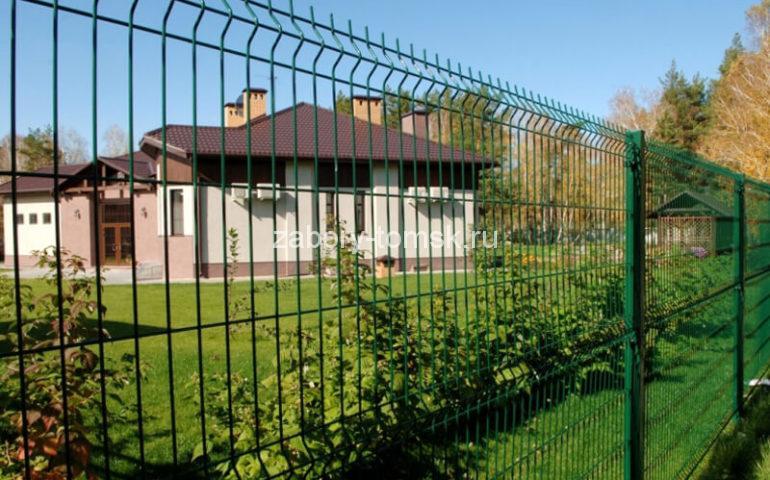 3д забор в Томске