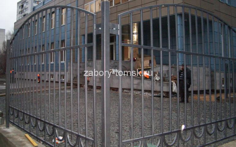 забор из профтрубы в Томске